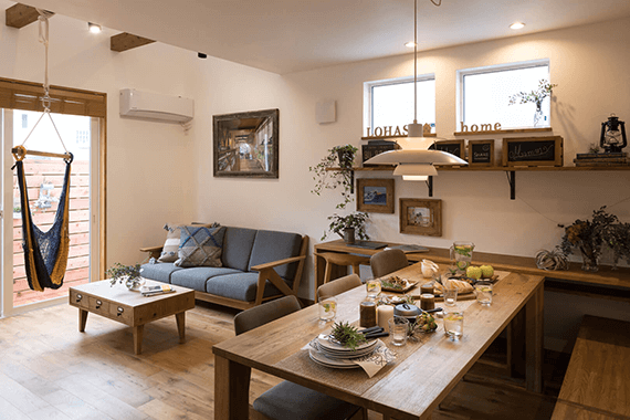 LOHASTA homeのモデルハウス1