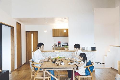 子供と暮らす家