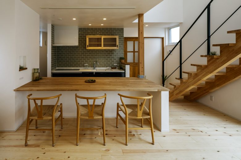 SIMPLE HOUSE-開放感のあるお家-