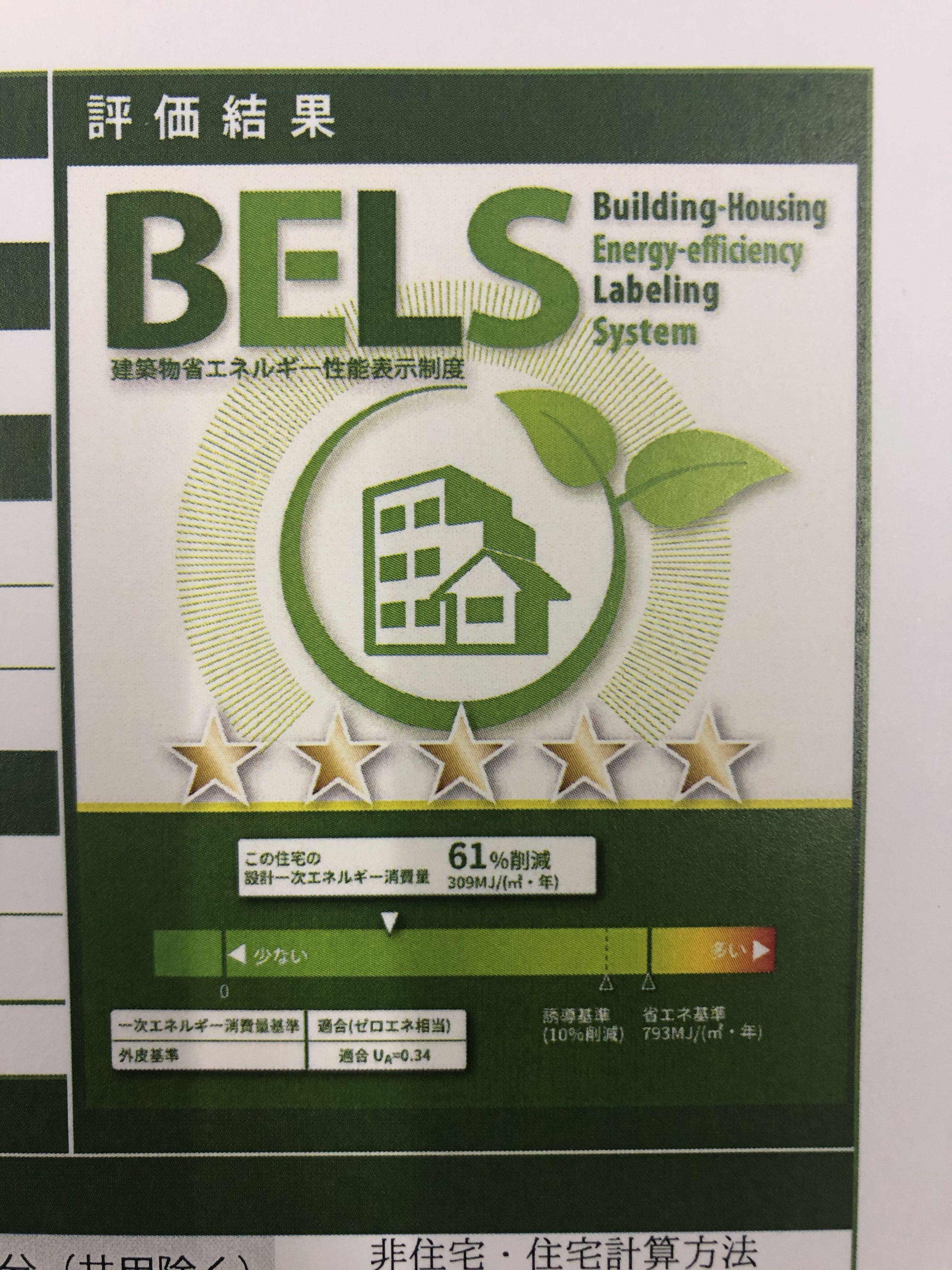 BELS申請通過