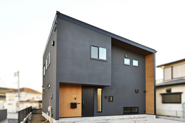断熱性、耐震性にもこだわるデザイン住宅